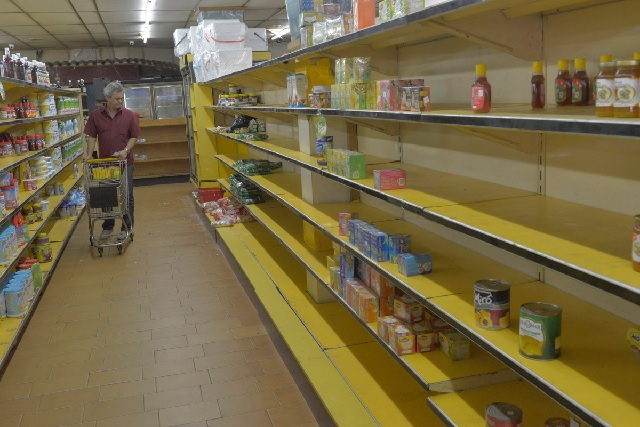 empty shelves inflation